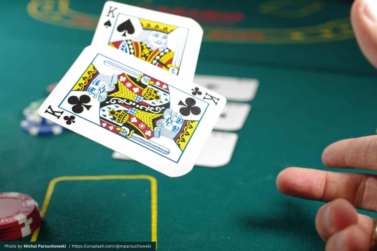 Play your cards right with gambling wins and losses