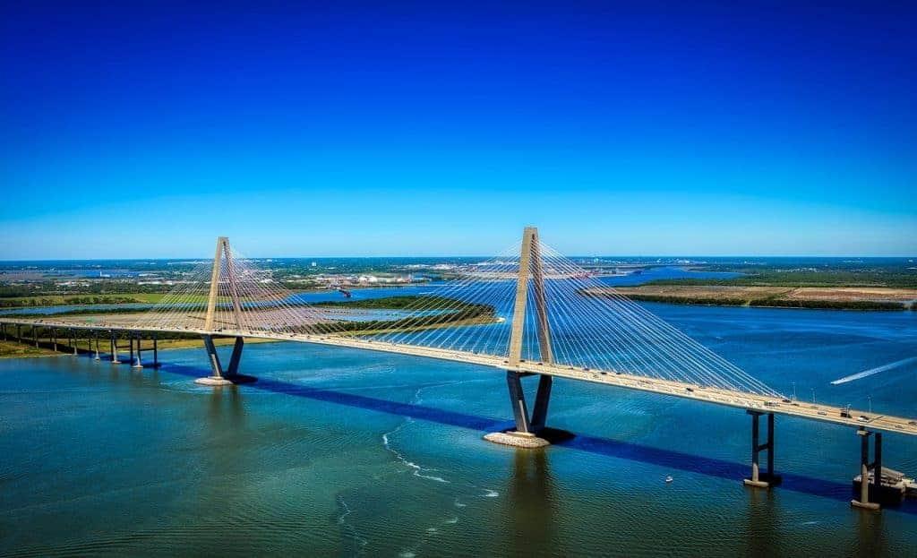 Ravenel Bridge tpsdave2 pixabay