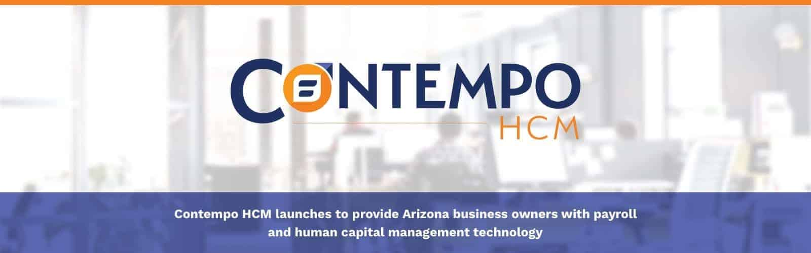 announcing Contempo HCM - payroll services and human capital management
