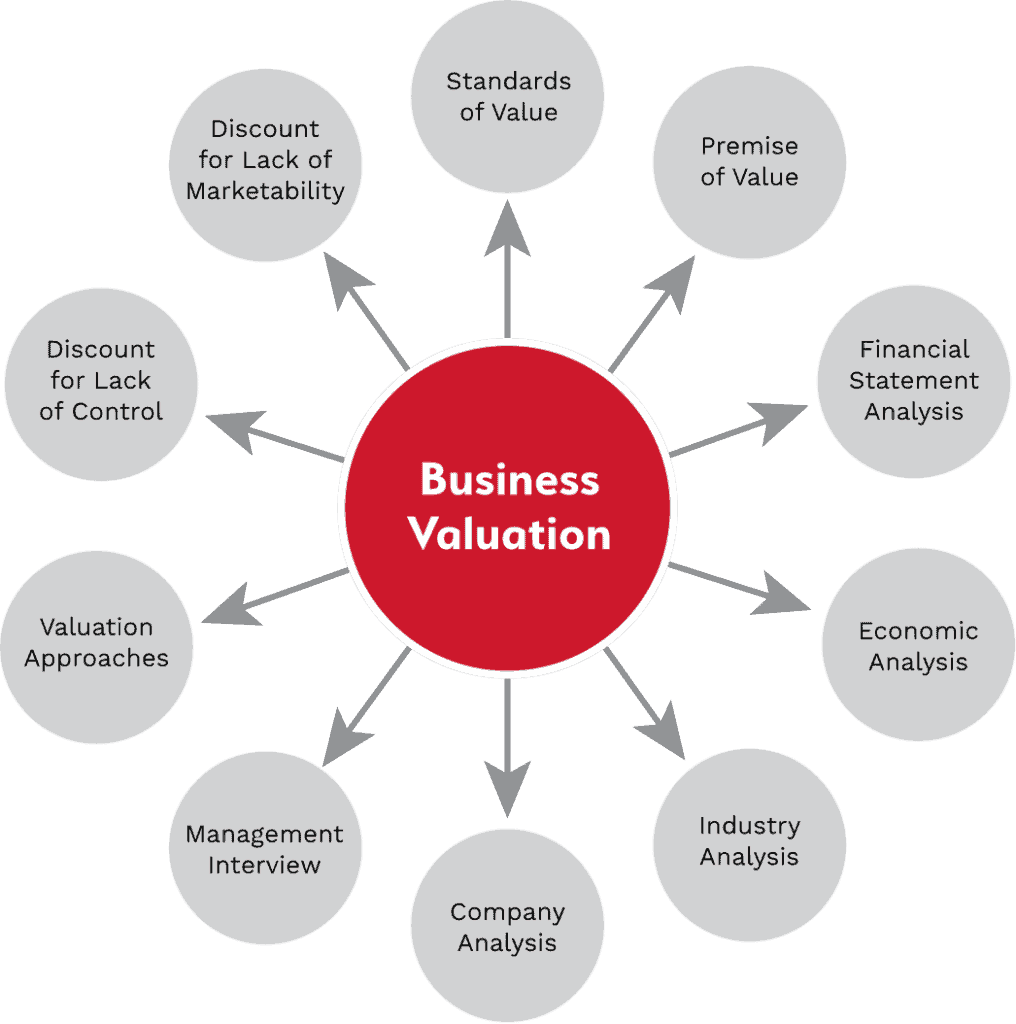 business valuation inputs and factors