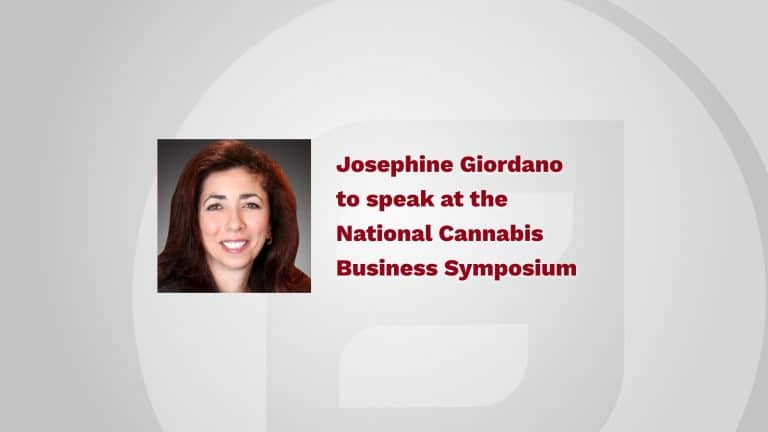 Josephine Giordano to speak at the National Cannabis Business Symposium